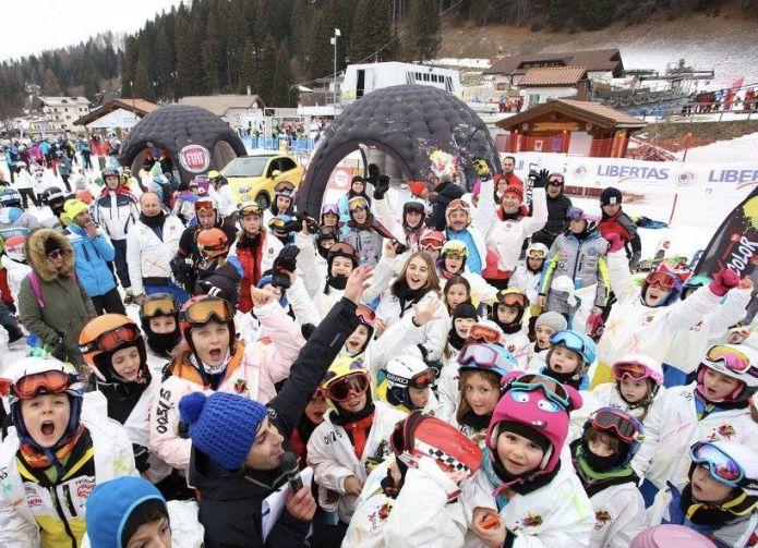 A Pila arriva il Rossignol X Color Tour, con l'esclusiva fun-race, ski-test Rossignol e test-drive Fiat