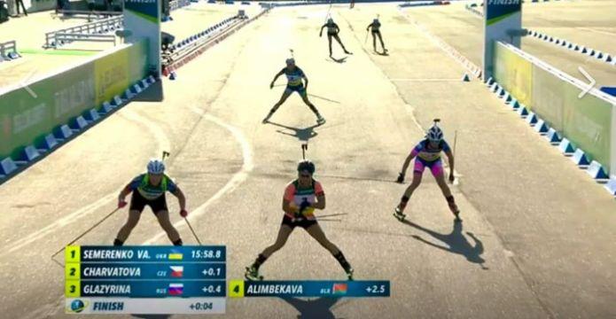 Lapshin e Valj Semerenko Oro nella Super Sprint ai Mondiali di Summer Biathlon