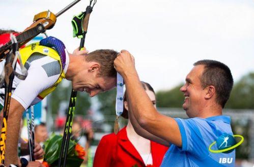 Lo slovacco Otcenas e la cinese Zhang, Inseguimento mondiale di Summer Biathlon