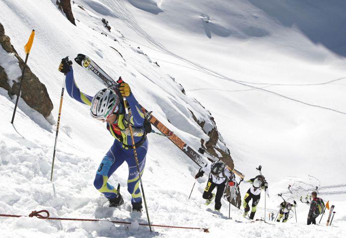 Matteo Eydallin al 4° Trofeo Marmotta della Val Martello