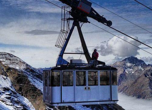Bormio the 2013 2014 season starts with the new cable car for Meuble cima bianca bormio