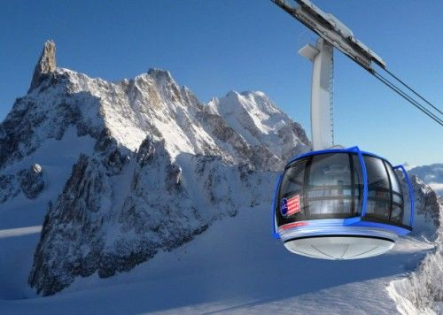 Courmayeur in may 2015 to open his mont blanc cable car for Monte alloro affitti di cabina