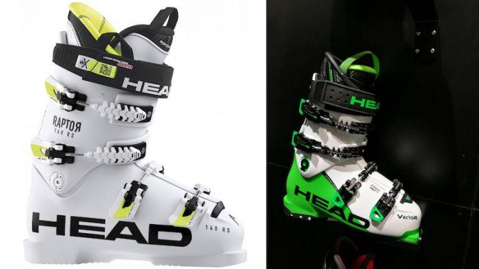 stili diversi stili di grande varietà Promozione delle vendite Head Boots: Restyling Raptor and Vector Evo lines for 2017-2018