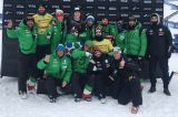 Italy's snowboard cross in athletic rally in Formia