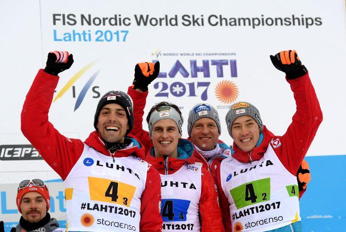 L'Austria della combinata nordica per il 2017-'18 scoppia di salute