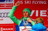 Peter Prevc fly back to. His second race in Vikersund, passed Primoz Peterka