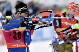 Martin Fourcade and Marie Dorin Habert won the sprint of the Summer Tour of Aron