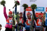 The Czech Republic comeback and won the women's relay of Presque Isle